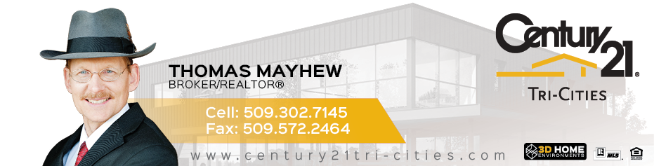 Thomas Mayhew, BROKER® / REALTOR for CENTURY 21 Tri-Cities.