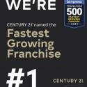 Century 21 Real Estate Named #1 Fastest-Growing Franchise By Entrepreneur Magazine